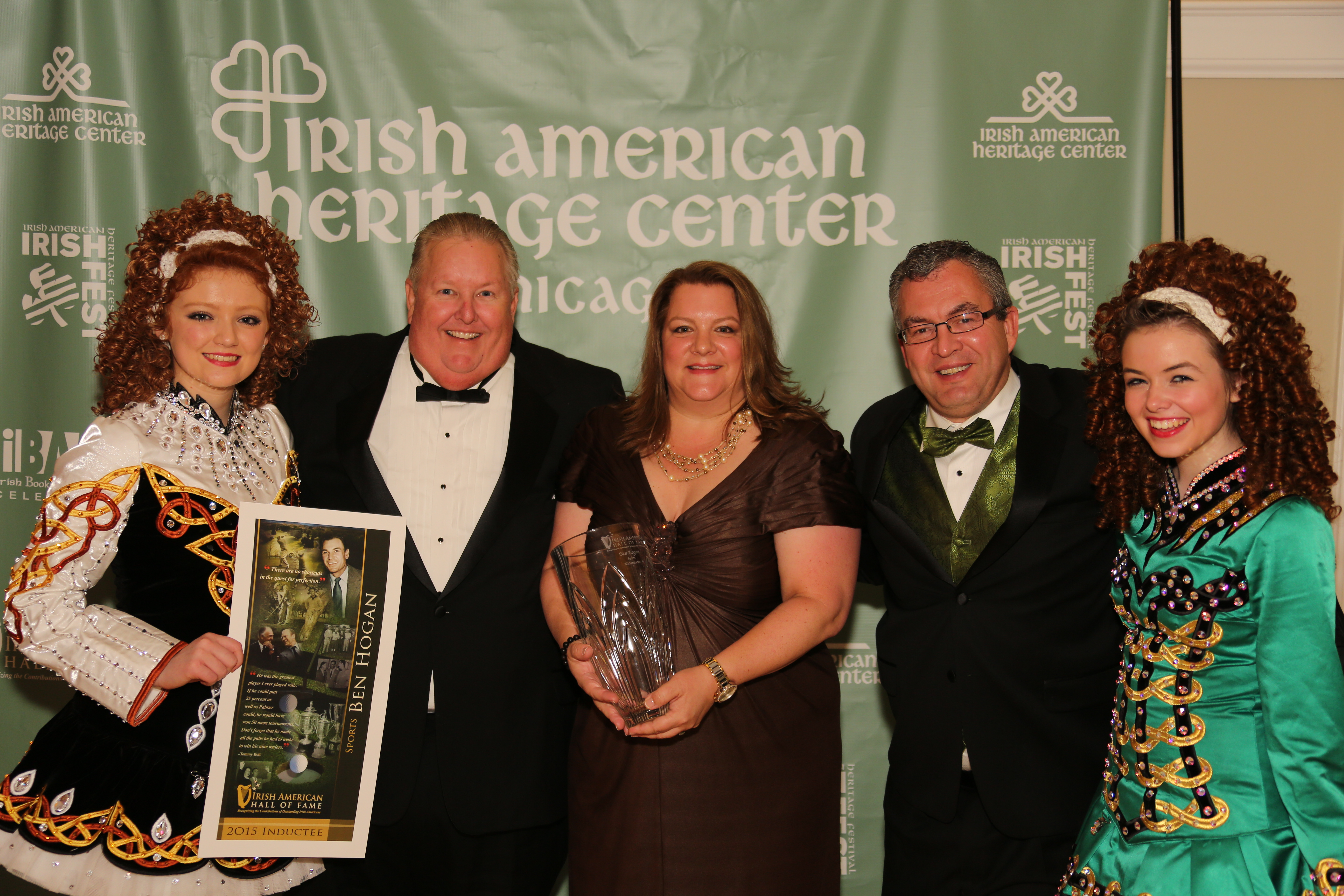 Ben Hogan inducted into the Irish American Hall of Fame - Ben ...